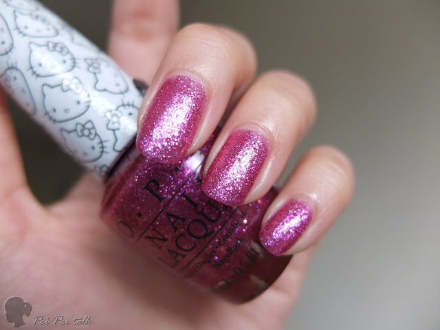 OPI 指甲油-NLH86-Starry-eyed for DearDaniel-試色