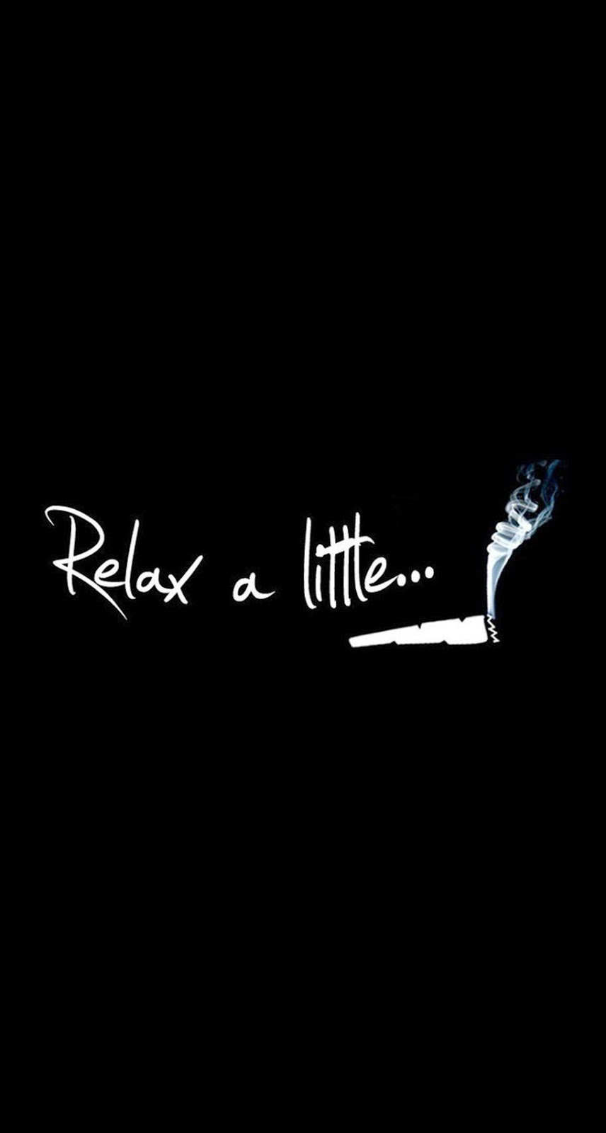Relax A Little Smoke Weed iPhone 6 Plus HD Wallpaper