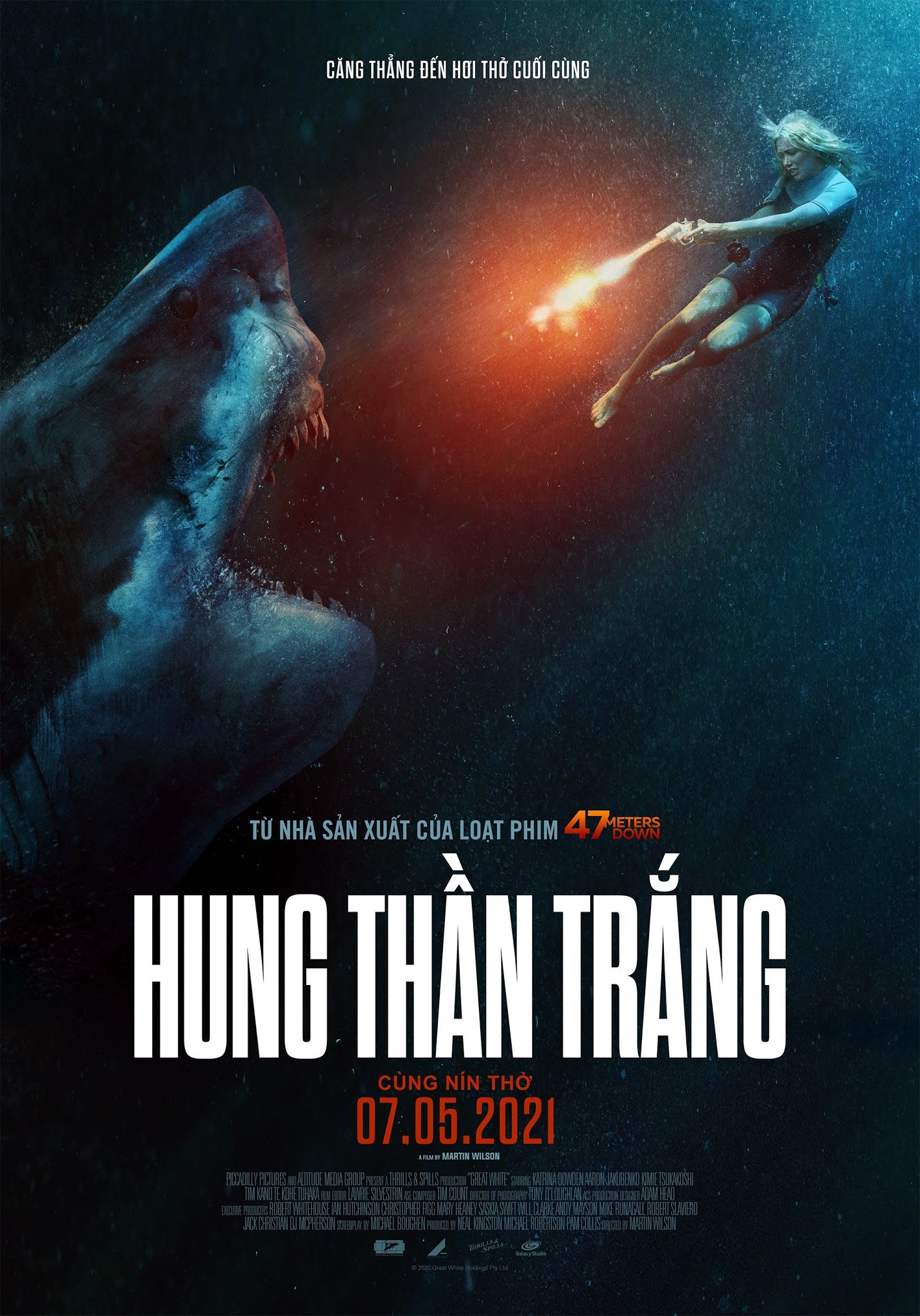 Hung Thần Trắng - Great White (2021) (2021)