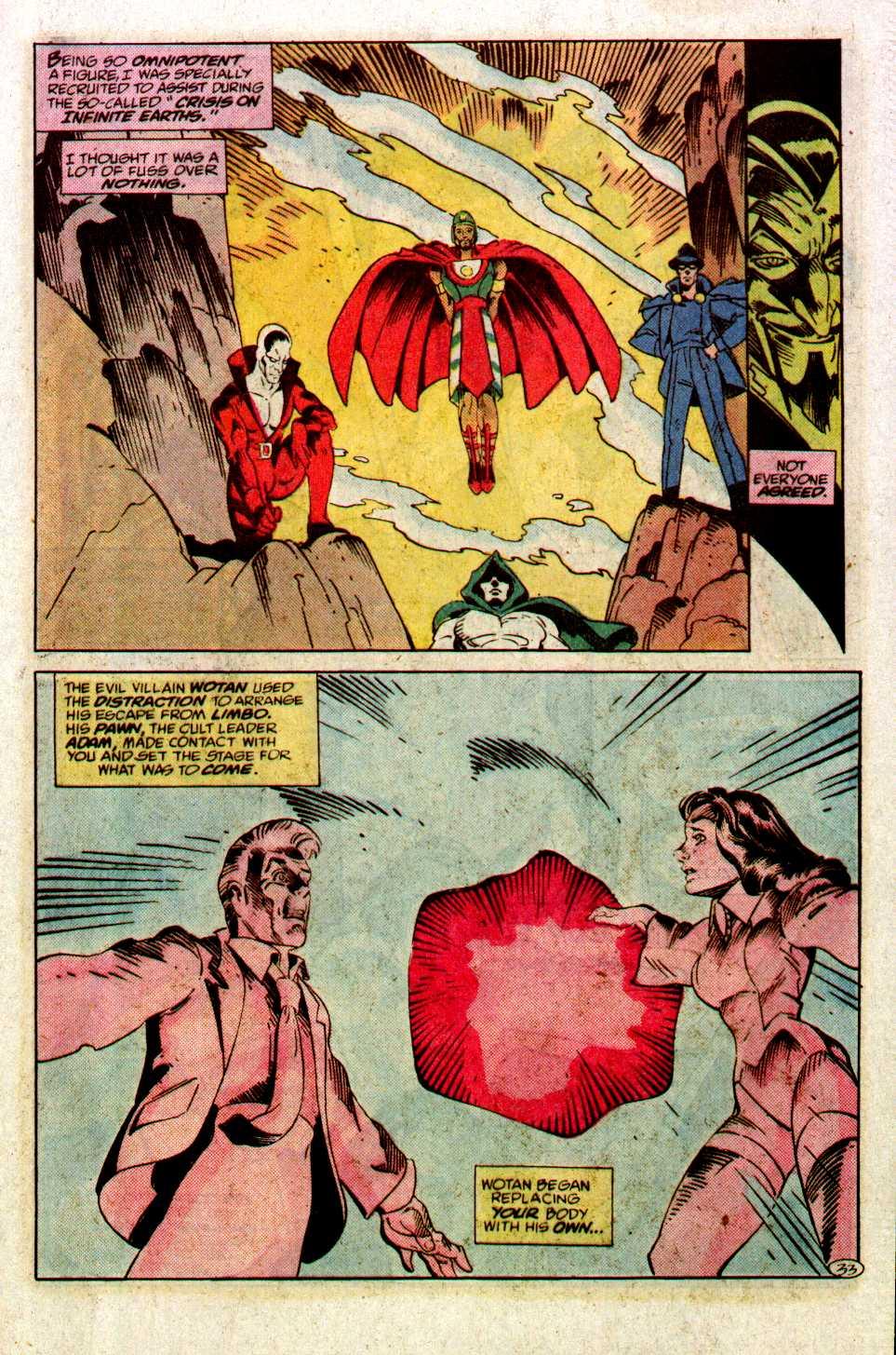 Read online Secret Origins (1986) comic -  Issue #27 - 34