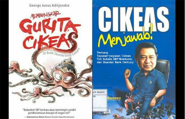 Jaman SBY Buku Dibalas Dengan Buku, Sekarang Buku Dibalas Dengan Penangkapan