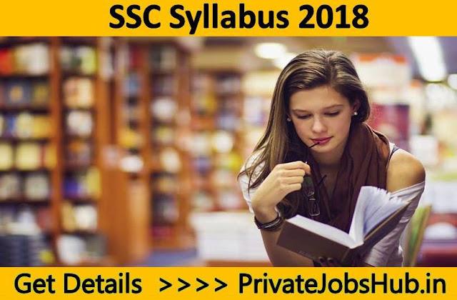 SSC Syllabus