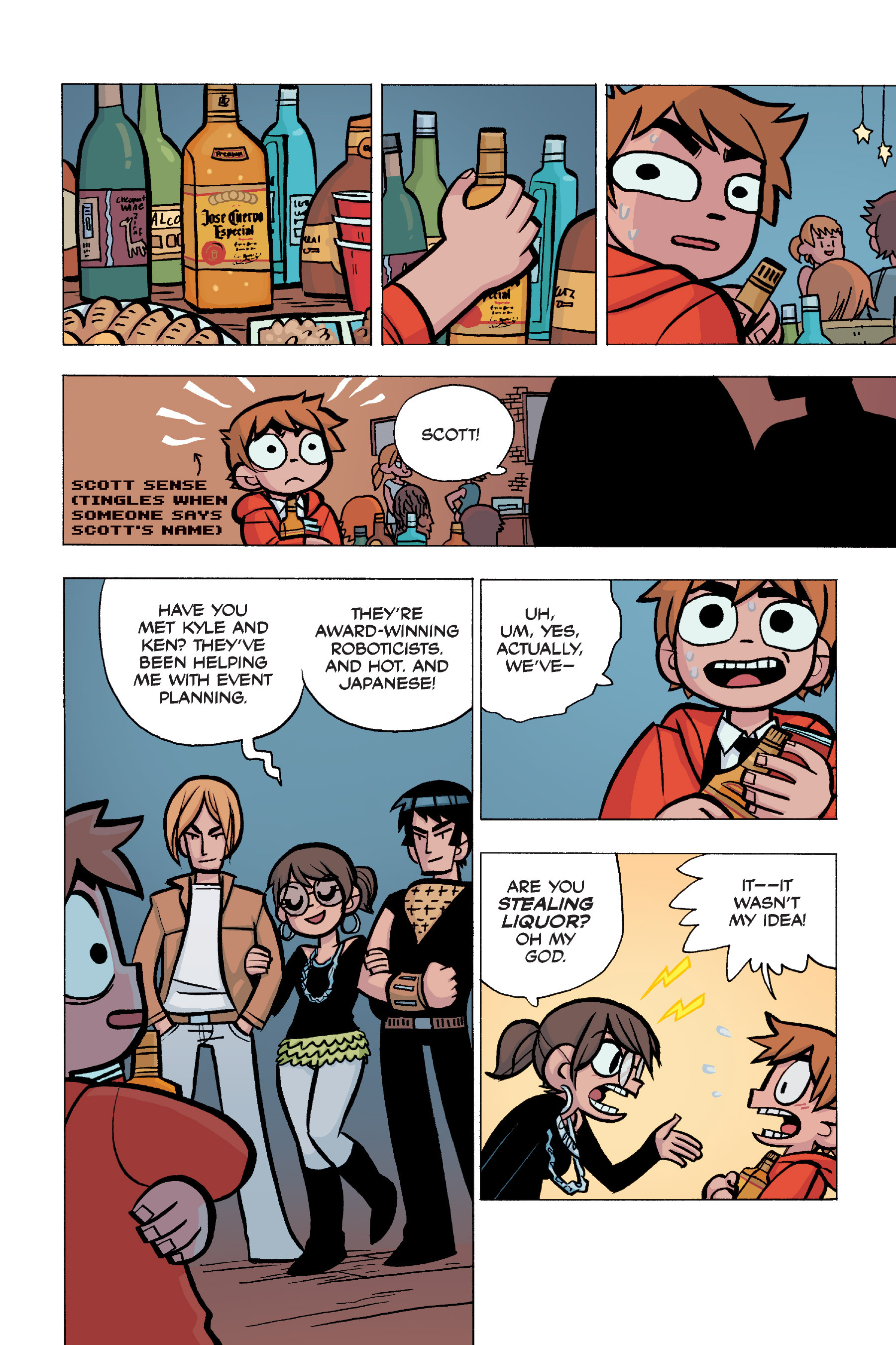 Read online Scott Pilgrim comic -  Issue #5 - 81