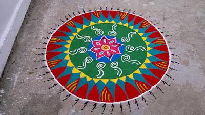 simple rangoli designs for diwali