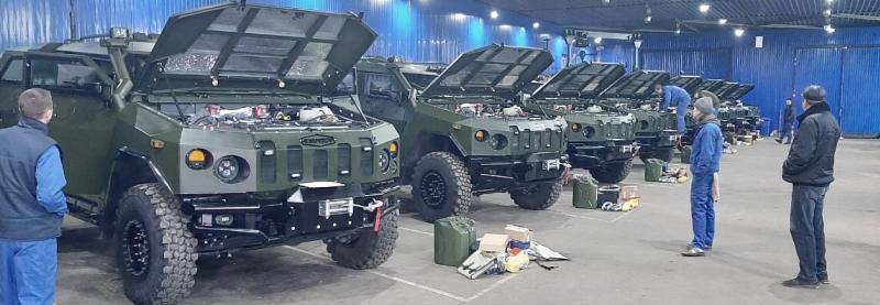Українська бронетехніка достроково виконала держконтракт