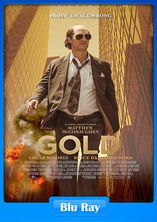 Gold 2016 480p BluRay 340MB x265 Poster