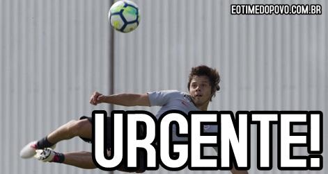 Romero renovou com o Corinthians
