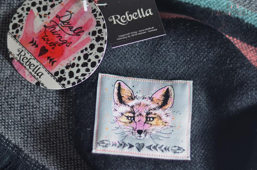 Rebella Schal Kuschelfaktor Label