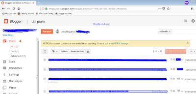 blogger HTTPS notification for custom domains