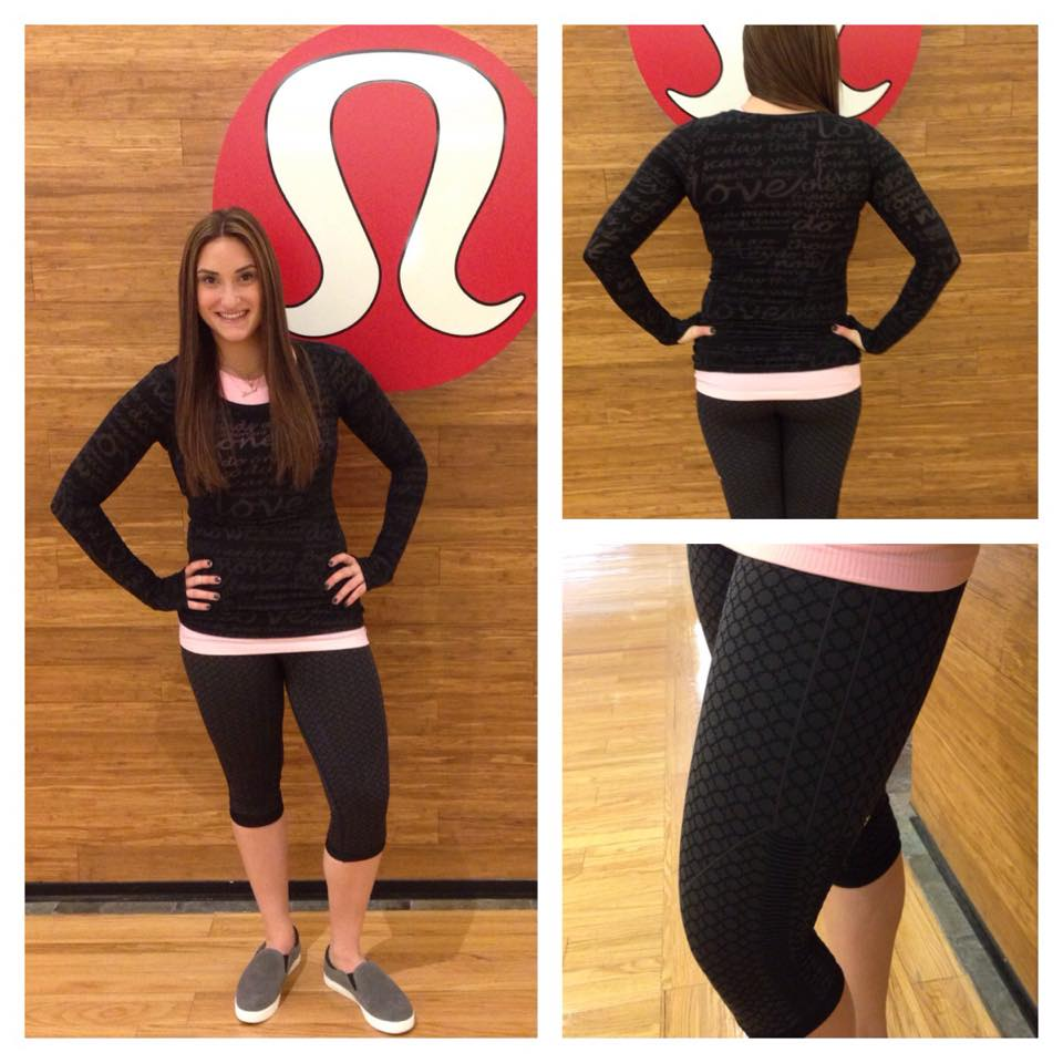 lululemon soul-geo-print in-the-flow-crop