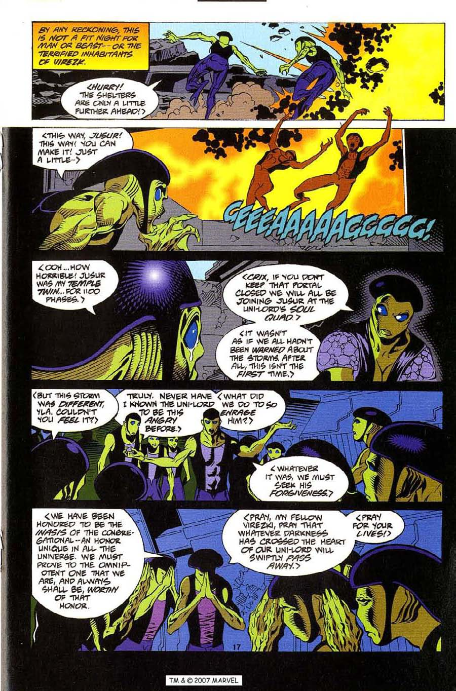 Silver Surfer (1987) Issue #112 #120 - English 19