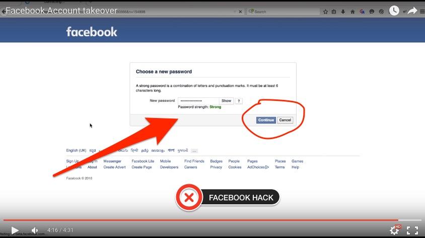أخطر و أسهل طريقة لإختراق حسابات الفيسبوك 2018
