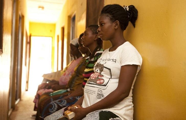 African pregnant women