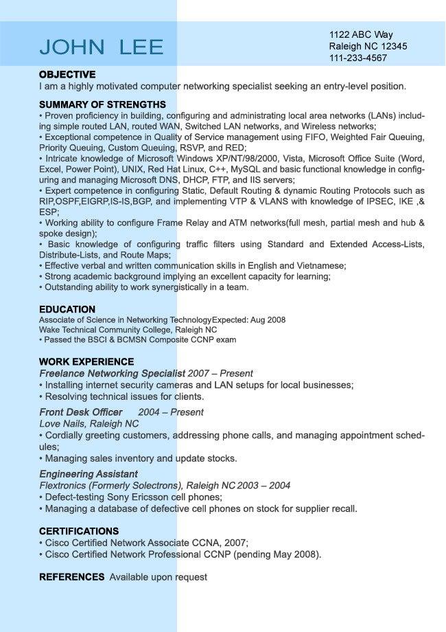 Entry Level Nurse Resume Sample Sample Resumes