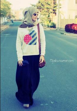 Model Baju Rajut Muslim Trend Terbaru Masa Kini