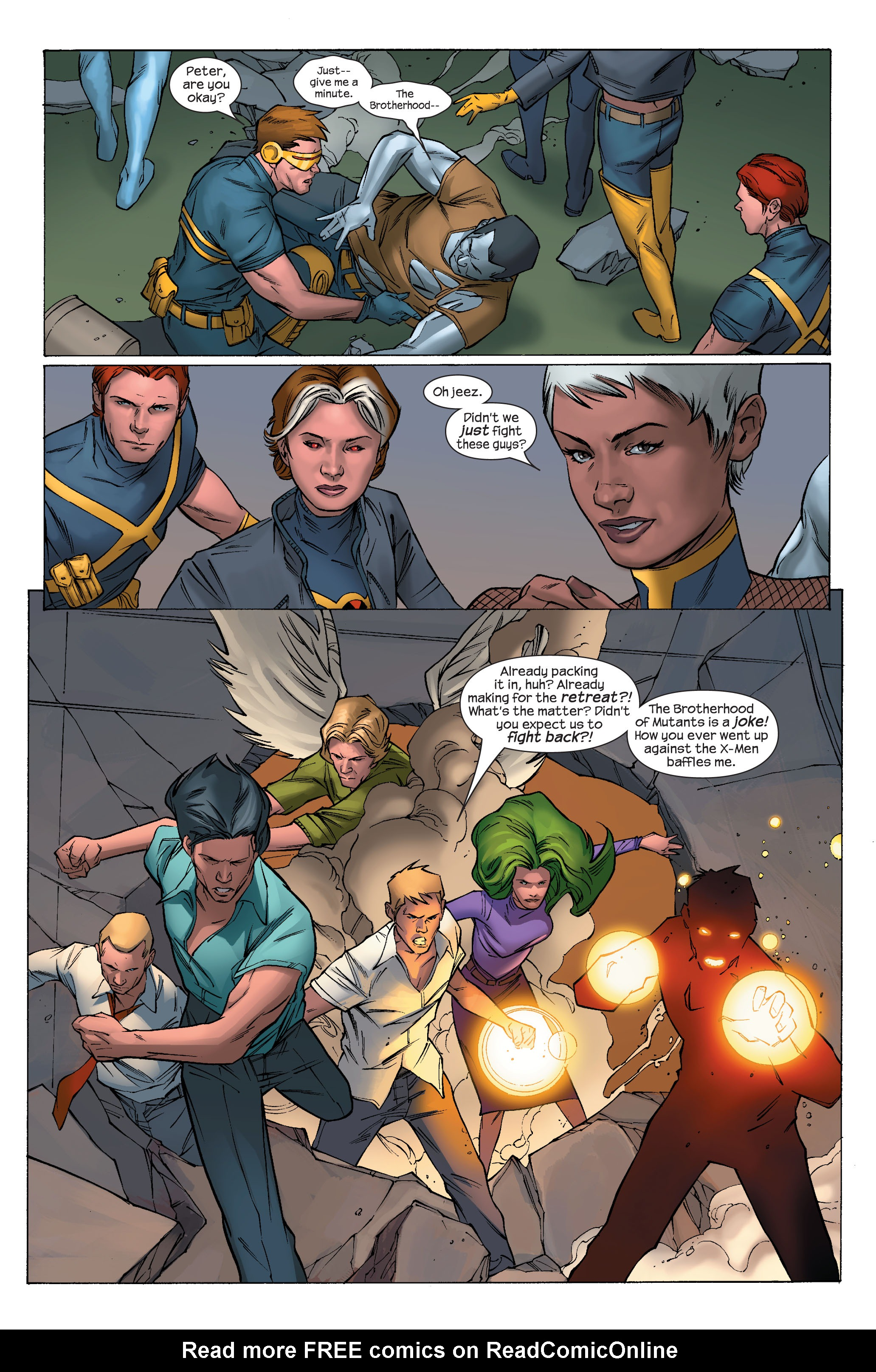 Read online Ultimate X-Men comic -  Issue #70 - 10