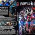Power Rangers (2017) Bluray Cover