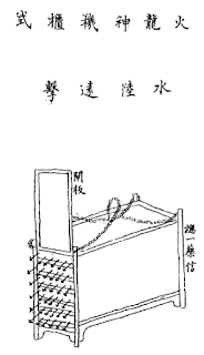 Ming Chinese Mobile Rocket Pod