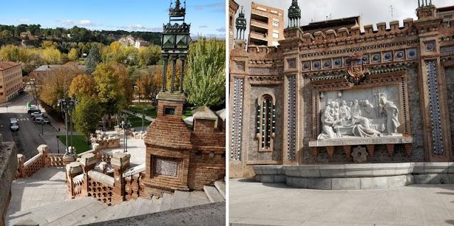 the green frog souvenirs du mois de novembre 2018 visite ville espagnole teruel escalita escaliers