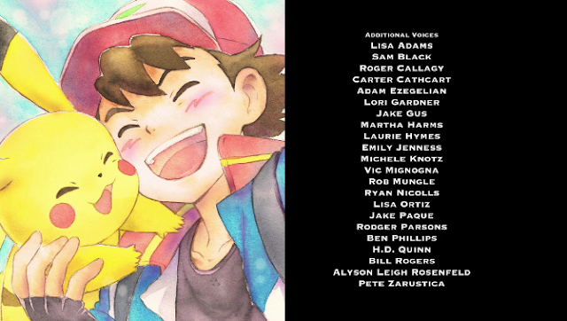 Pokémon the Movie Power of Us Vic Mignogna credits additional voice actors
