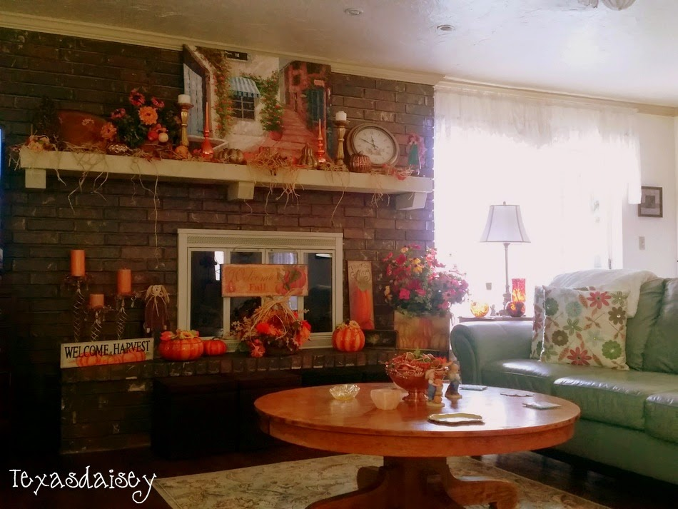 Texasdaisey: Autumn in my home 8