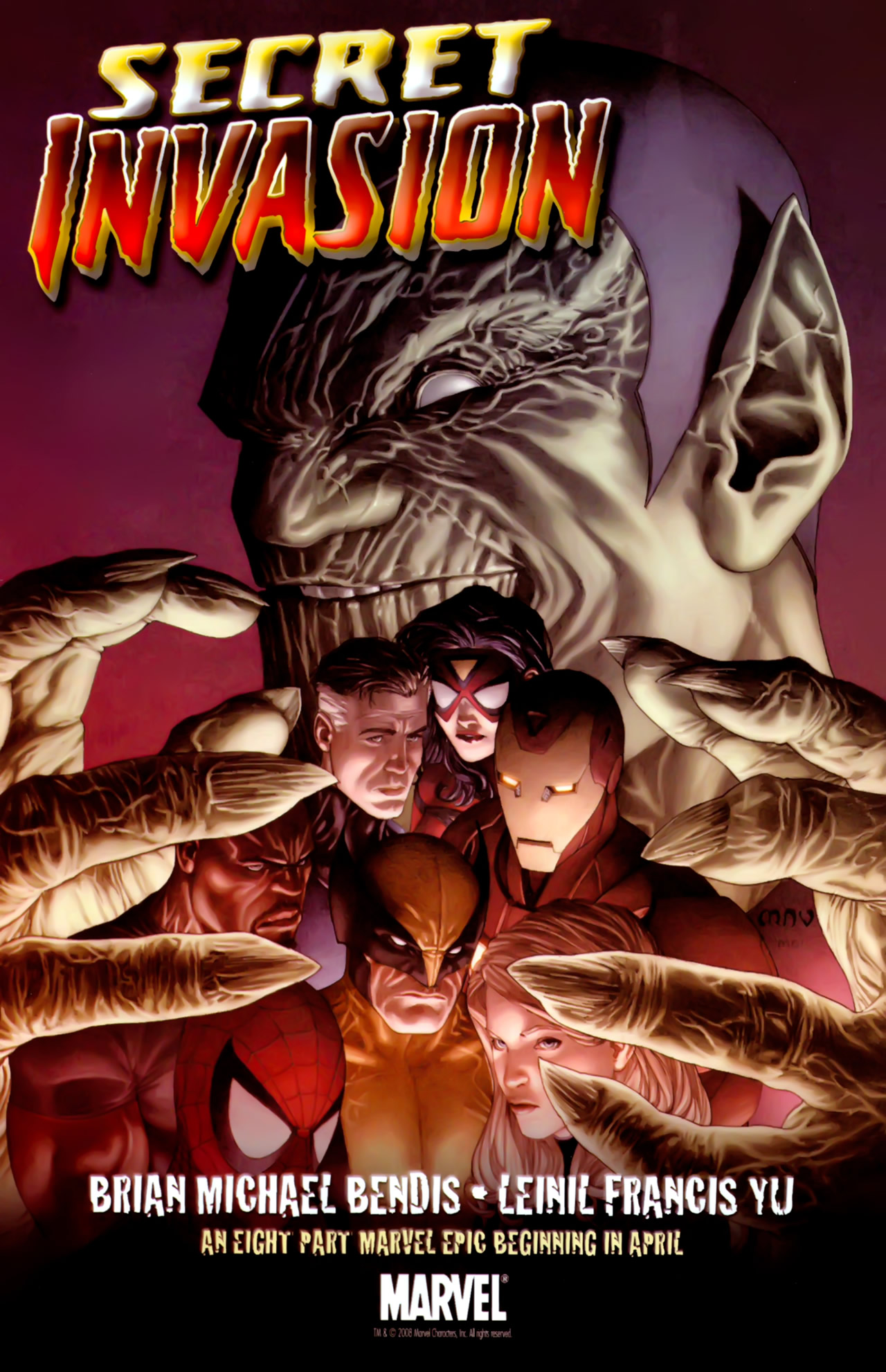 Read online Secret Invasion: The Infiltration comic -  Issue #6 - 25