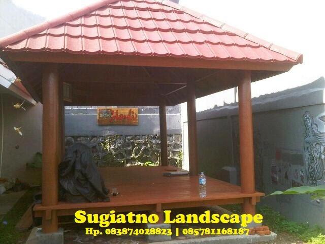saung-gazebo-kayu-kelapa-atap-genteng