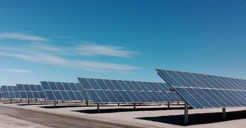 Pondrán en funcionamiento la planta solar más grande del Perú en Moquegua