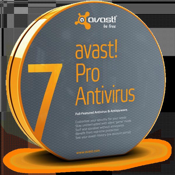 Avast Pro AntiVirus 7 Registerd + Serial key till 2038 ...