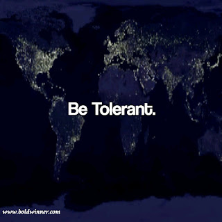 Don't be problematic, be tolerant