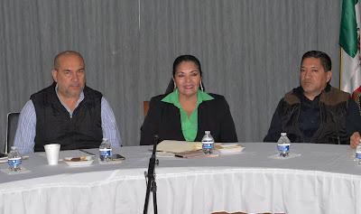 Se reúnen alcaldes de la región del Mayo con autoridades de seguridad de los tres niveles de gobierno