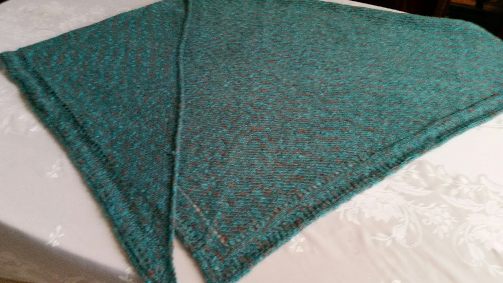 Diana natters on about machine knitting mid gauge shawl finished ive been ever so slowly working on a new book for mid gauge knitters and just finished one of the pattern items for the book bankloansurffo Image collections