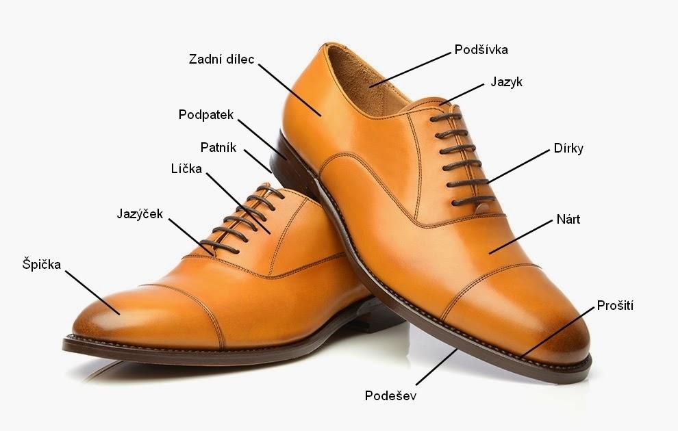d626fae5051f Anatomie pánské společenské obuvi - Na vlně stylu