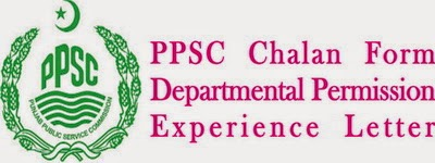 Download PPSC Fee Challan form