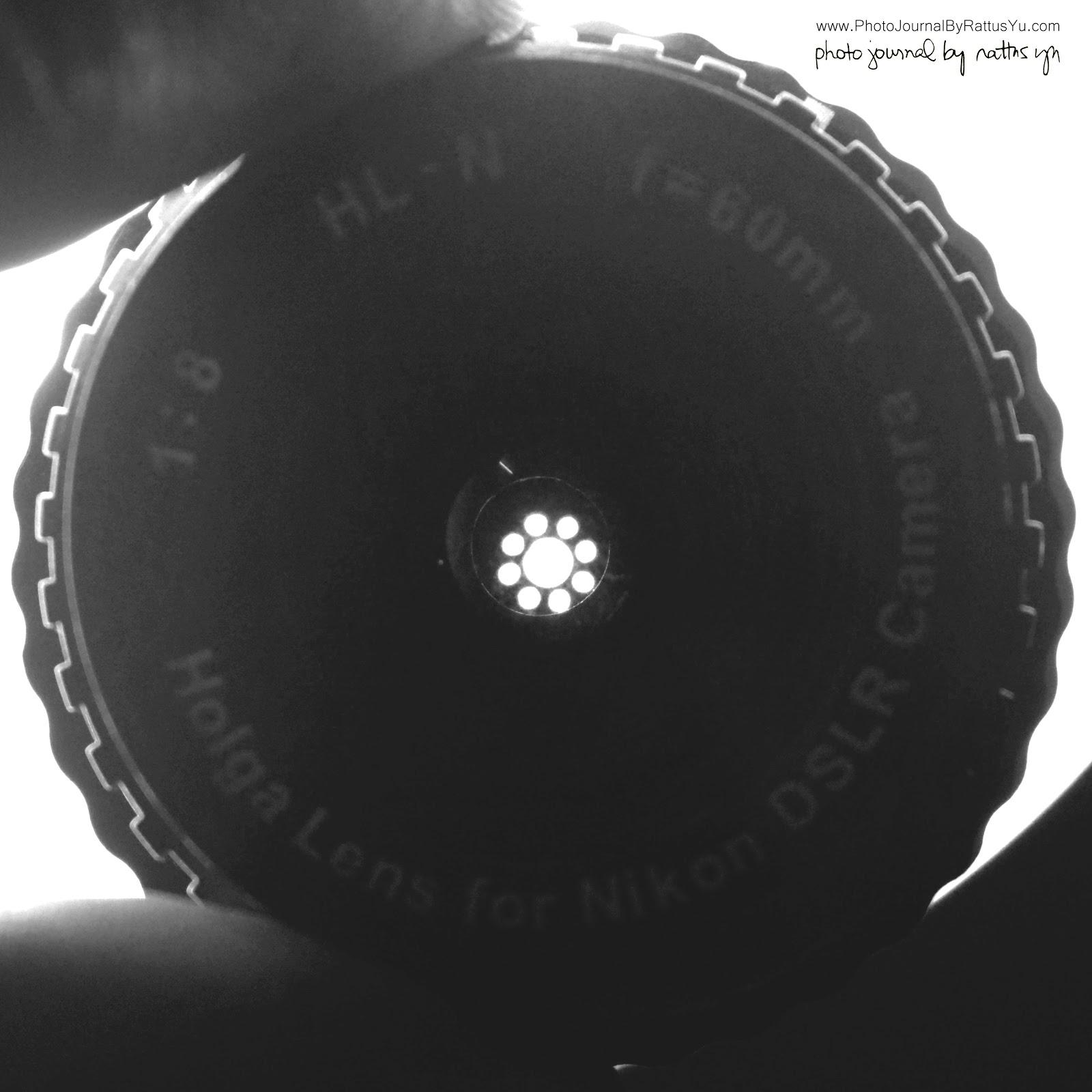Holga HL-N 60mm f/8 Lens Hack