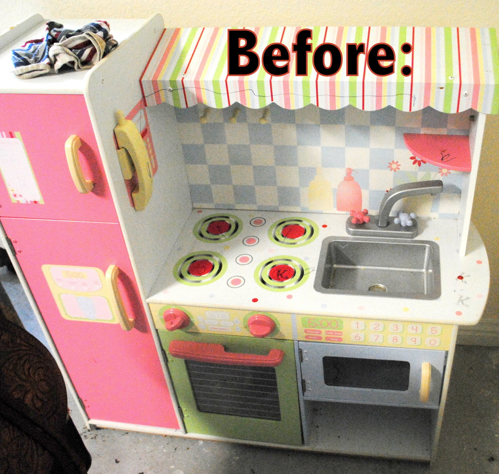 The Rosy Life: DIY Play Kitchen Makeover!