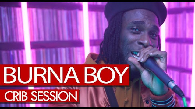 VIDEO: Burna Boy Freestyles on Tim Westwood's Crib Session