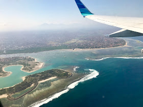 Bali from above
