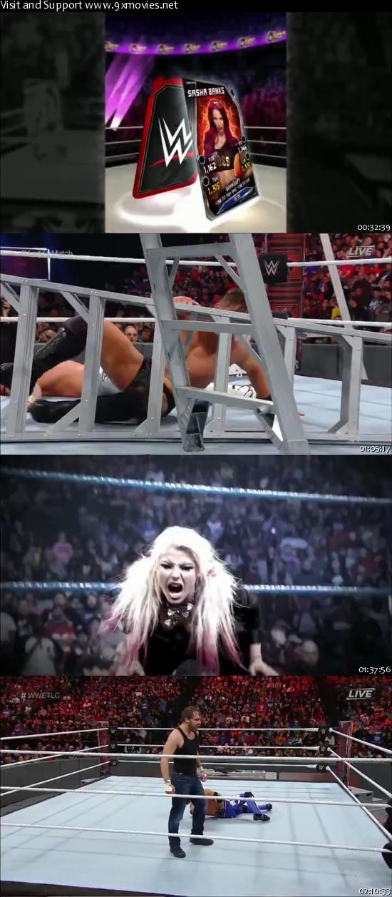 WWE TLC 2016 PPV 480p WEBRip x264 600MB