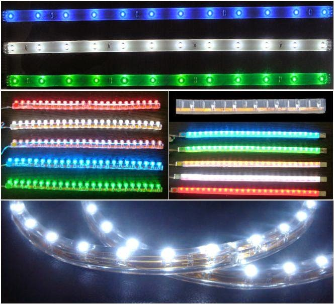 Luces Led De Colores Tiras De Led Usos Y Aplicaciones