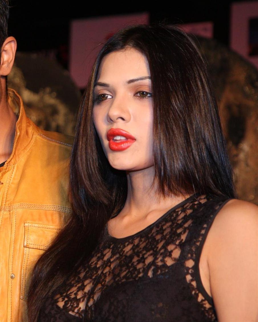 Angela Schijf Sexy sara loren sexy in black dress at the 'murder 3' first look