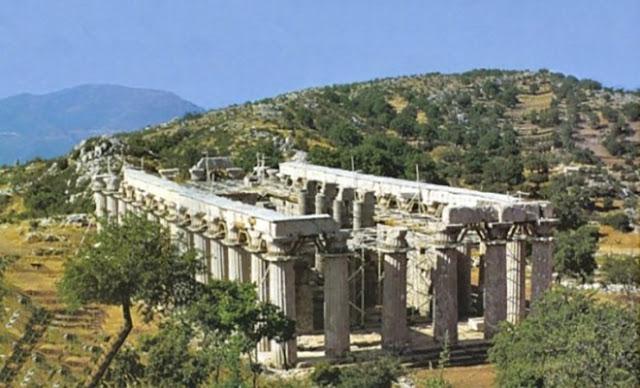 Μοναδικό φαινόμενο στην Ελλάδα. Ο Ναός του Επικούριου Απόλλωνα που… περιστρέφεται [Βίντεο]
