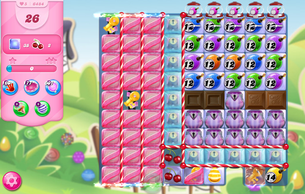 Candy Crush Saga level 6484