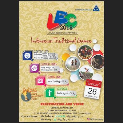 LIA English Competition (LEC) 2018