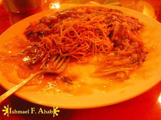 Fried noodles in A Taste of Mandarin in Cebu City