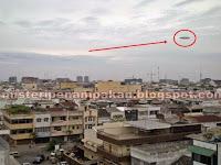 Heboh Penampakan UFO di Medan