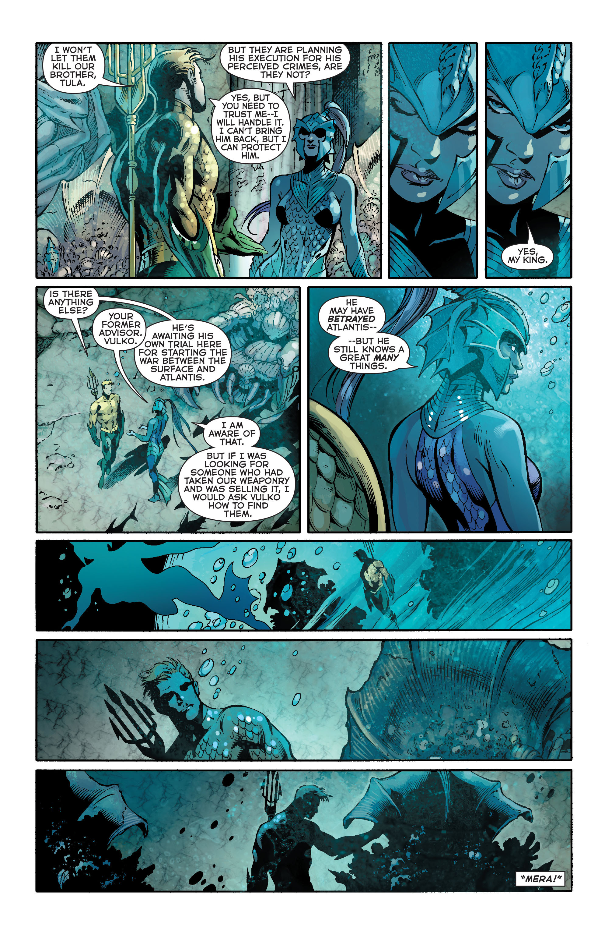 Read online Aquaman (2011) comic -  Issue #18 - 11