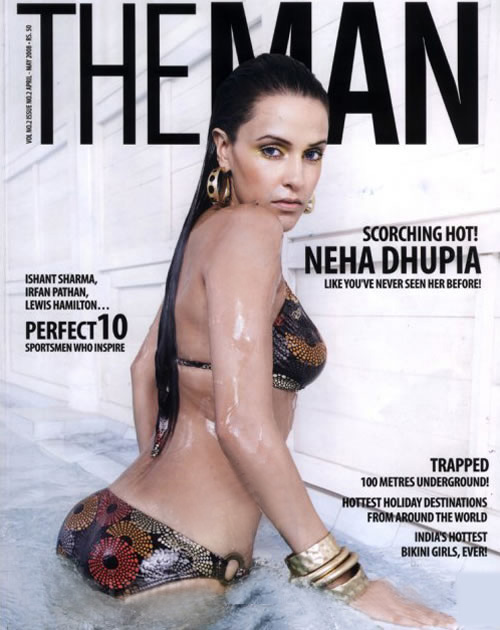 Hot neha dhupia bikini with you