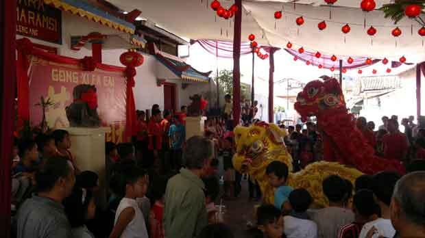 Indonesia dikenal dengan bangsa yang ramah Tahun Baru Imlek (Kongian) 2018 di Bangka Belitung