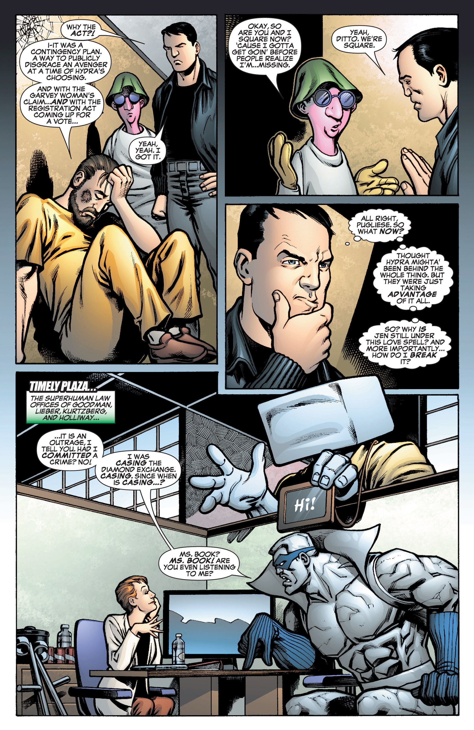 Read online She-Hulk (2005) comic -  Issue #10 - 9